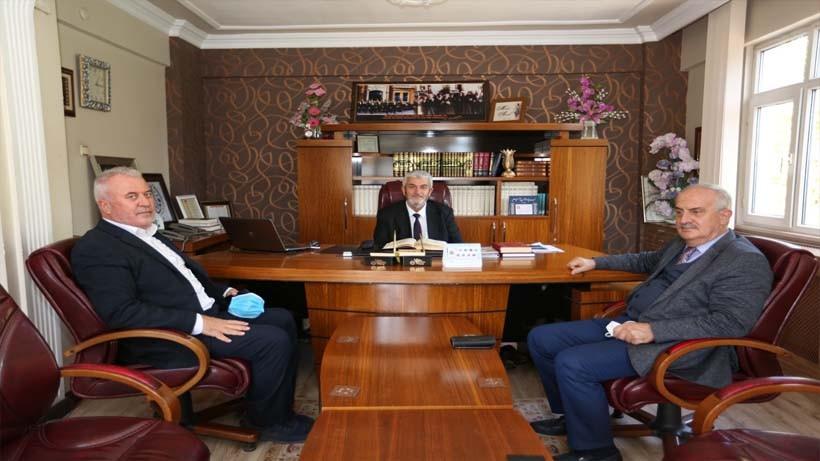 Başkan Aygün'den Müftü Amil'e Ziyaret