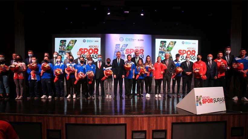 Kocaeli Spor Şurası toplandı; Sporun Başkenti Kocaeli hedefi gerçek oluyor