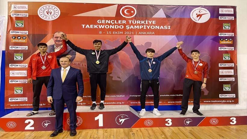 Körfezli Armağan İkram Türkiye 3.'sü oldu