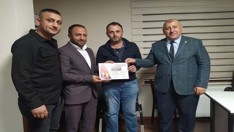 MHP Derince'de Mahalle Başkanları Atandı