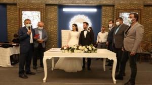 Başkan Yardımcısı,Abbas Bayrak Oğlunu Evlendirdi