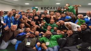Kocaelispor galibiyeti sevdi: 1-0