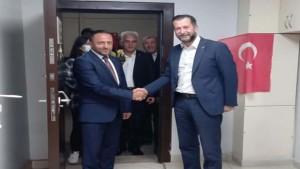MHP Derince'den, AK Parti Derince'ye İade-i Ziyaret