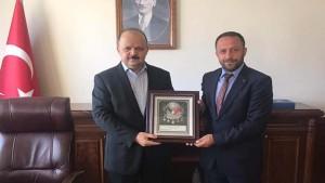 MHP Derince'den Kaymakam'a hayırlı olsun ziyareti