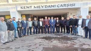 MHP İl Başkanı Merkez Cami Derneği ve cami cemaati ile bir araya geldi
