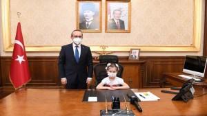 Minik Vali, koronavirüse karşı uyardı