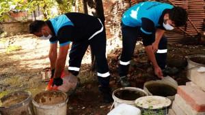 Sivrisinek ile mücadele için 8 milyon 700 bin adım
