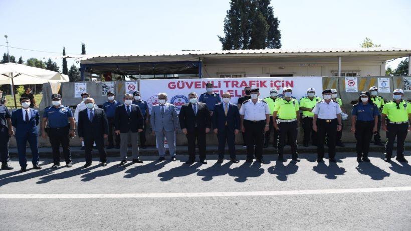 Vali Yavuz,Trafik Uygulamasını inceledi