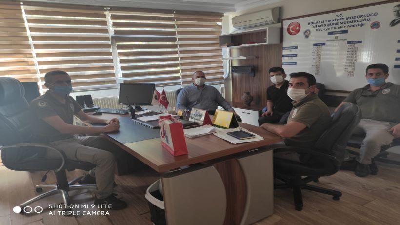 Yeni kurulan amirliğe ilk ziyaret İzmit Belediyesinden