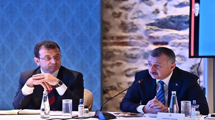 Başkan Büyükakın'ın Marmara'ya yönelik önerilerine Bakan Kurum'dan tam destek